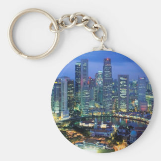 aerial  view  of singapore  angie keychains