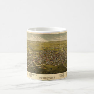 Aerial View of Somerville, New Jersey (1882) Coffee Mug
