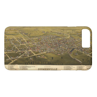 Aerial View of Somerville, New Jersey (1882) iPhone 7 Plus Case