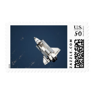 Aerial view of Space Shuttle Discovery 2 Postage