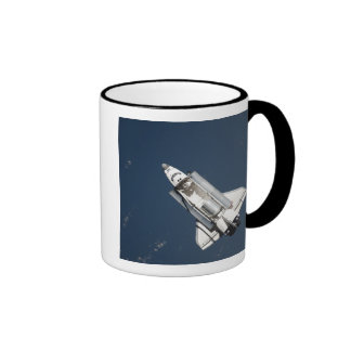 Aerial view of Space Shuttle Discovery 2 Ringer Mug