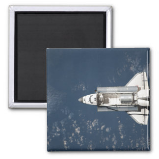 Aerial view of Space Shuttle Discovery 3 Magnet