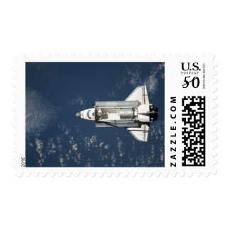 Aerial view of Space Shuttle Discovery 3 Postage