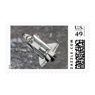Aerial view of Space Shuttle Discovery Postage