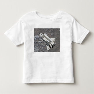 Aerial view of Space Shuttle Discovery Toddler T-shirt