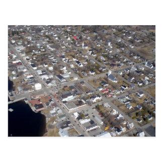 Aerial view of St. Andrews, New Brunwick Postcard