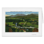 Aerial View of the 60 Meter Olympic Ski Jump Greeting Card