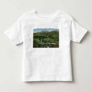 Aerial View of the 60 Meter Olympic Ski Jump Toddler T-shirt
