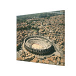 Aerial view of the amphitheatre canvas print