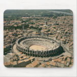 Aerial view of the amphitheatre mouse pad