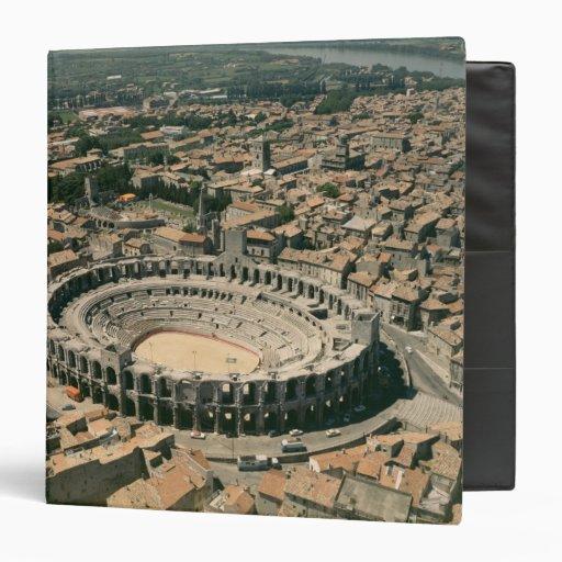Aerial view of the amphitheatre vinyl binders