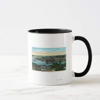 Aerial View of the Boothbay Harbor Mug