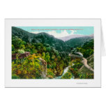 Aerial View of the Canyon, Southern Pacific Trai Greeting Cards