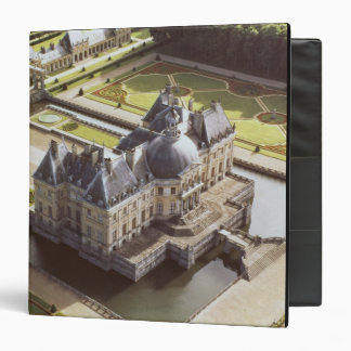 Aerial view of the Chateau, designed for Nicholas Binder