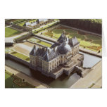 Aerial view of the Chateau, designed for Nicholas Greeting Card