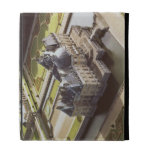 Aerial view of the Chateau, designed for Nicholas iPad Folio Case