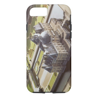 Aerial view of the Chateau, designed for Nicholas iPhone 7 Case