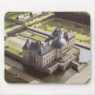 Aerial view of the Chateau, designed for Nicholas Mouse Pad