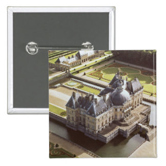 Aerial view of the Chateau, designed for Nicholas Pinback Button