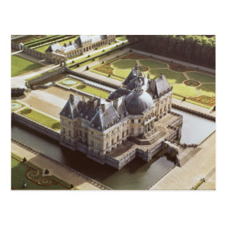 Aerial view of the Chateau, designed for Nicholas Post Card