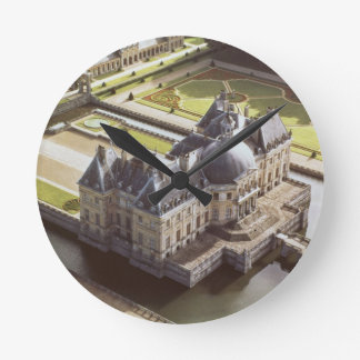 Aerial view of the Chateau, designed for Nicholas Round Clock