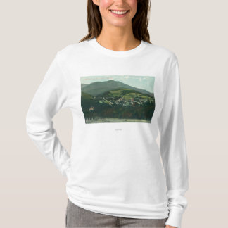 Aerial View of the City and Mt. Tamalpais T-Shirt