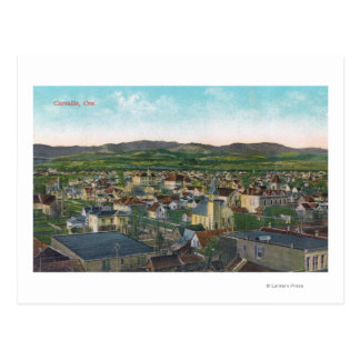 Aerial View of the CityCorvallis, OR Postcard