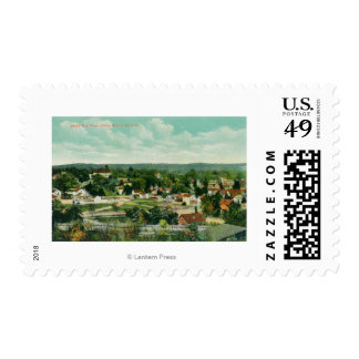 Aerial View of the CityPaso Robles, CA Postage
