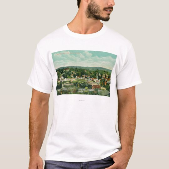 Aerial View of the CityPaso Robles, CA T-Shirt
