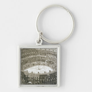 Aerial view of the Colosseum in Rome from 'Views o Key Chain