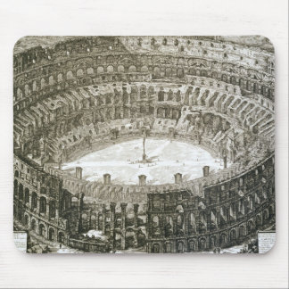 Aerial view of the Colosseum in Rome from 'Views o Mouse Pad