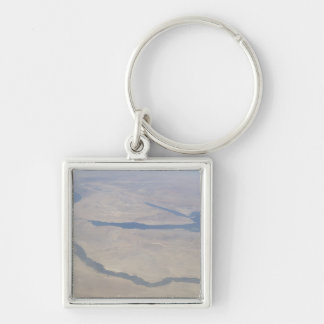 Aerial view of the Egypt and the Sinai Peninsul Keychain