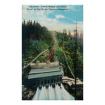 Aerial View of the Electron Power Station Posters