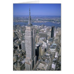 Aerial view of the Empire State Building and Greeting Card