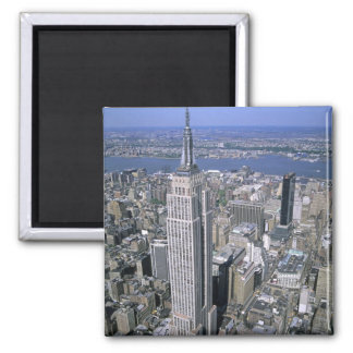 Aerial view of the Empire State Building and Fridge Magnets