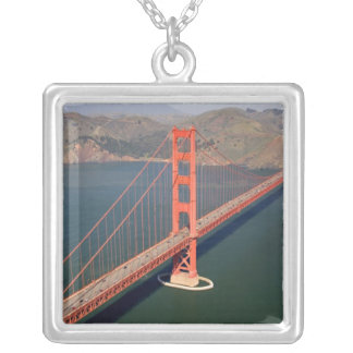 Aerial view of the Golden Gate Bridge in the 2 Necklace