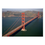 Aerial view of the Golden Gate Bridge in the 2 Print