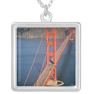 Aerial view of the Golden Gate Bridge in the Custom Jewelry