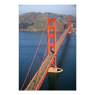Aerial view of the Golden Gate Bridge in the Photo