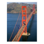 Aerial view of the Golden Gate Bridge in the Post Cards