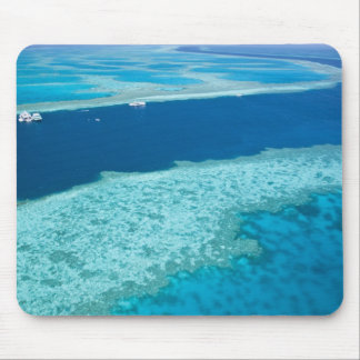 Aerial view of The Great Barrier Reef by the Mouse Pad