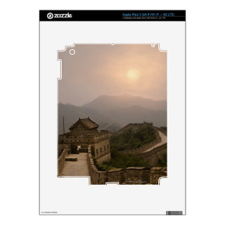 Aerial view of the Great Wall of China iPad 3 Skin