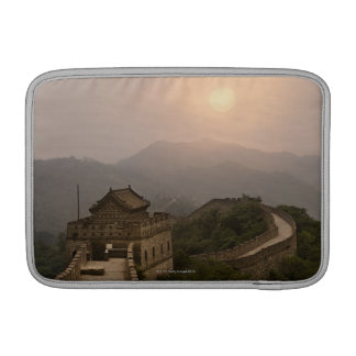 Aerial view of the Great Wall of China MacBook Sleeves