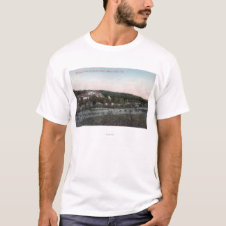 Aerial View of the Knowles Granite Quarry T-Shirt