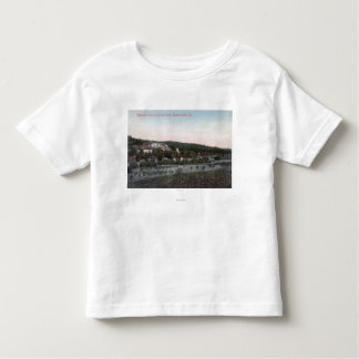Aerial View of the Knowles Granite Quarry Toddler T-shirt