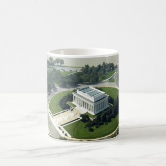 Aerial View of the Lincoln Memorial Coffee Mug