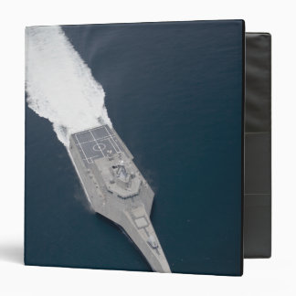 Aerial view of the littoral combat ship binder