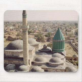 Aerial view of the Mevlana Tekke Mouse Pad
