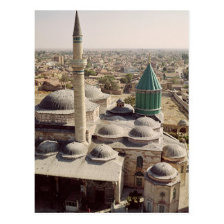 Aerial view of the Mevlana Tekke Postcard