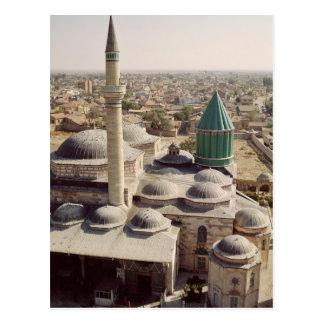 Aerial view of the Mevlana Tekke Postcard